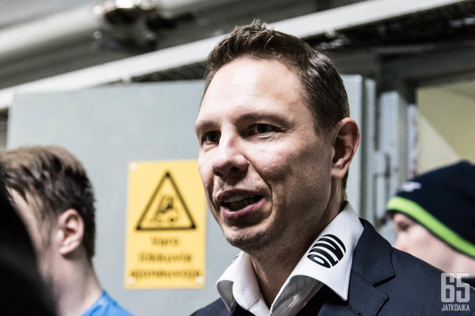 Tältä näyttää onnellinen Jussi Tapola.
