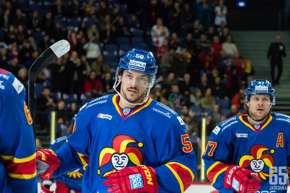Juhamatti Aaltonen oli tiistain ykköstähti.