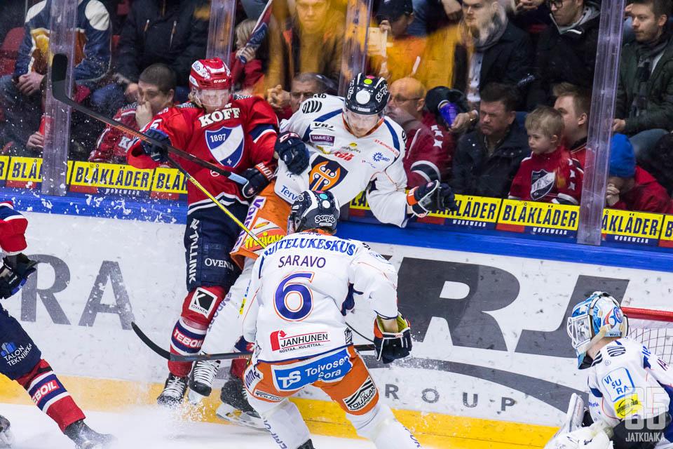 Tappara haki ison voiton Helsingistä.