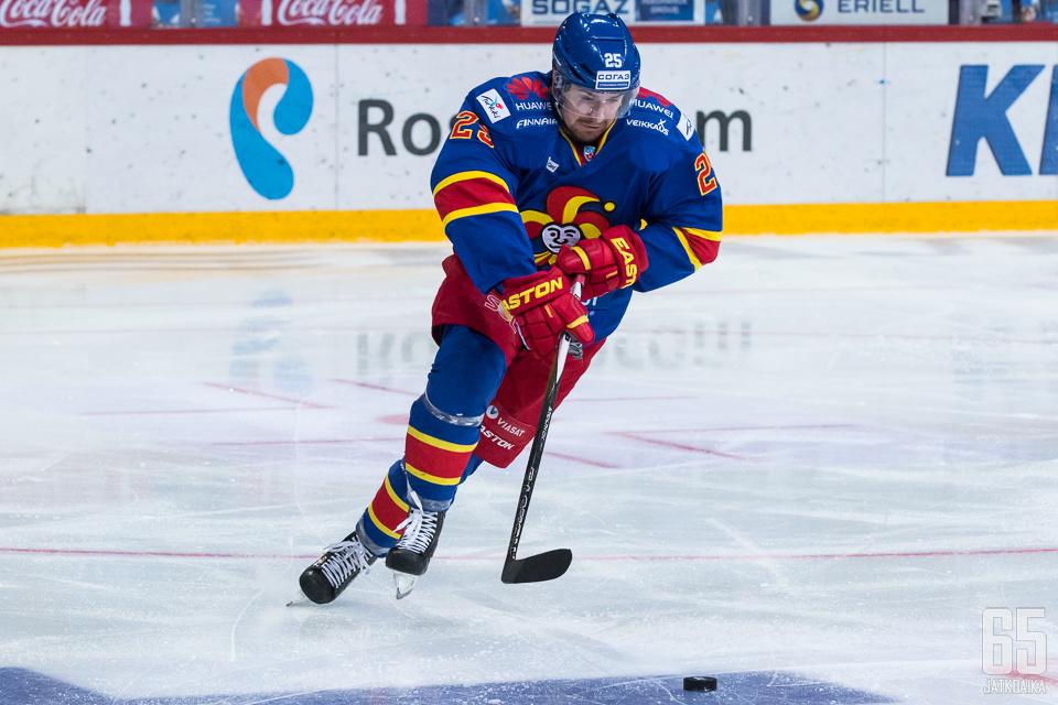 Pekka Jormakka oli yksi SKA-ottelun onnistujista.