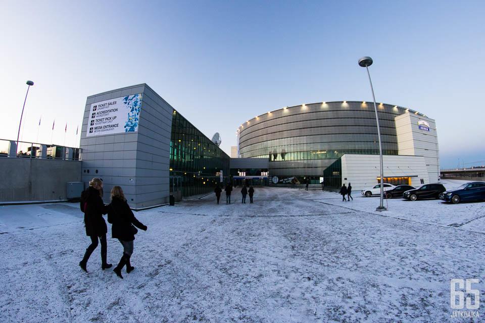 Hartwall Arena on yksi vaihtoehto MM-kisaisännäksi 2022.