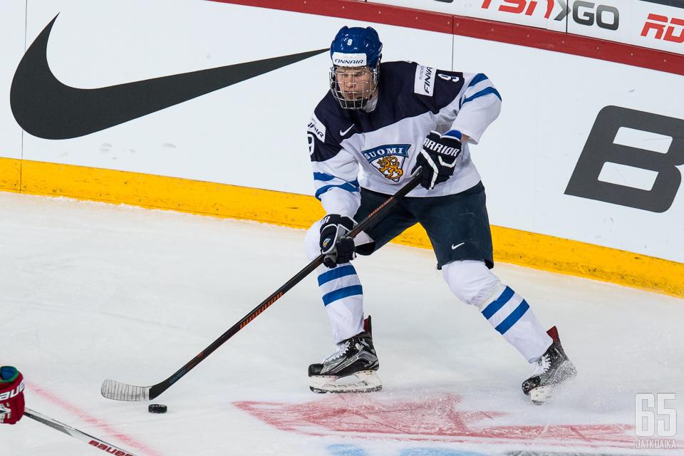 Jesse Puljujärvi has played a rather offensive role.