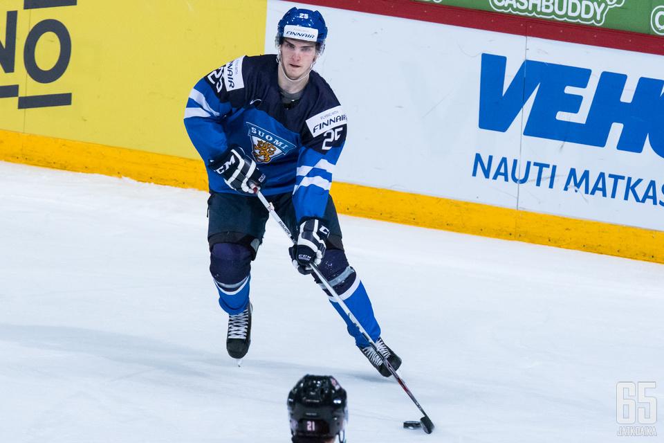Nättinen pelasi kahdesti nuorten MM-kisoissa.