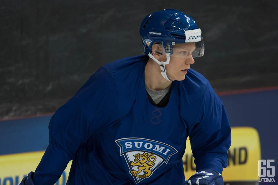 Eetu Sopanen kuului Suomen nuorten kotikisojen joukkueeseen.