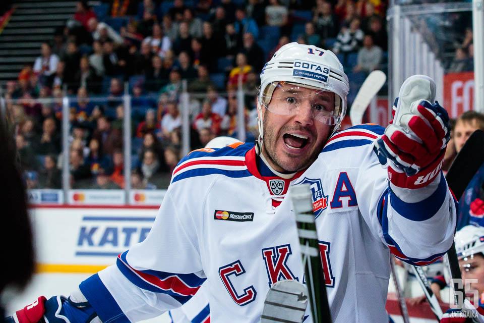 Ilja Kovaltšuk ei kyennyt auttamaan joukkuettaan voittoon.