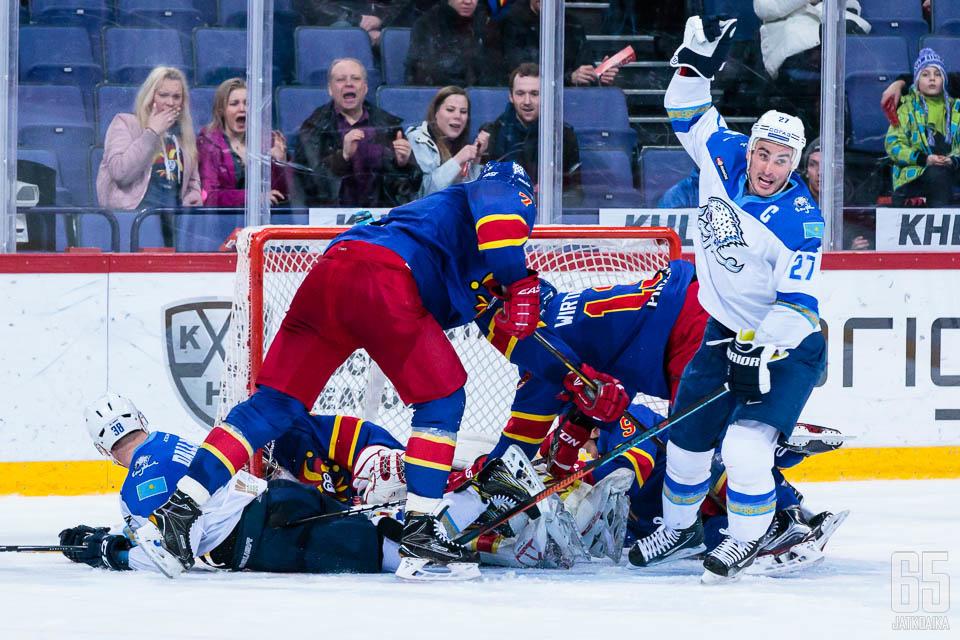 Barys Astanan taistelu palkittiin jatkoajalla.