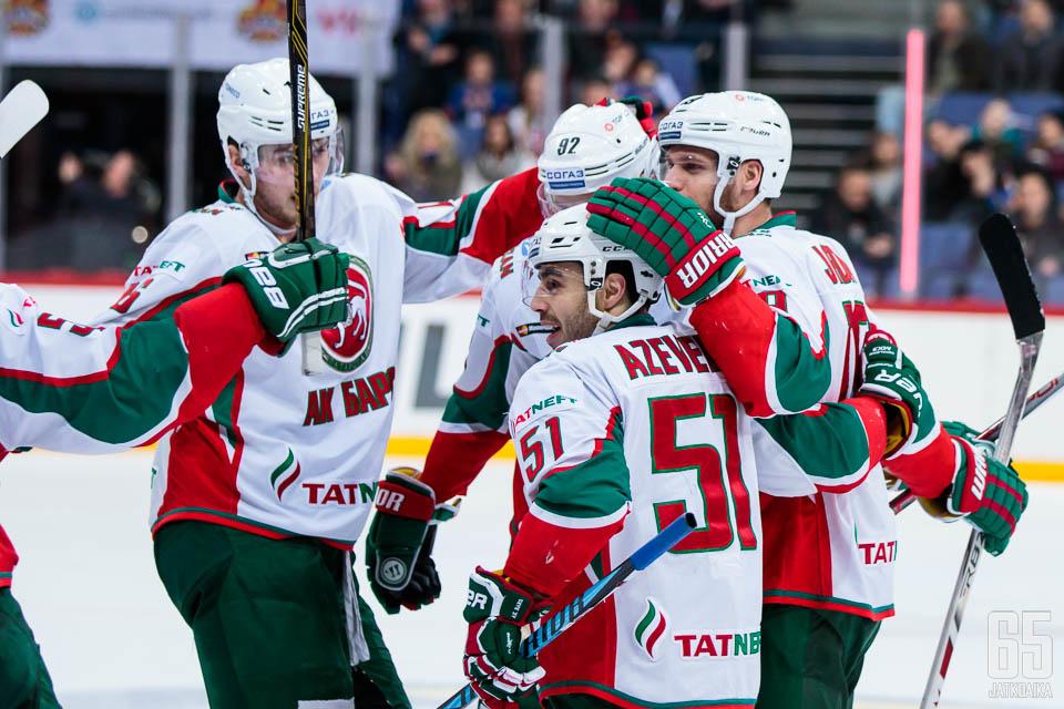 Ak Bars Kazan eteni jo voiton päähän KHL:n finaaleista.