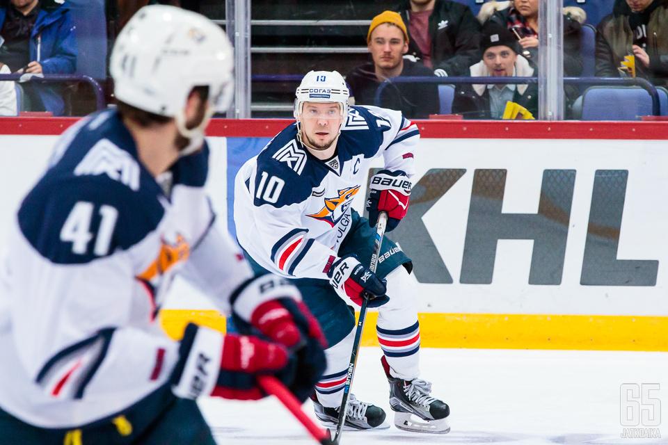 Kuusinkertainen KHL:n pistepörssin voittaja Sergei Mozjakin johdattaa haavoittuneen Metallurgin mestaruusjahtiin.