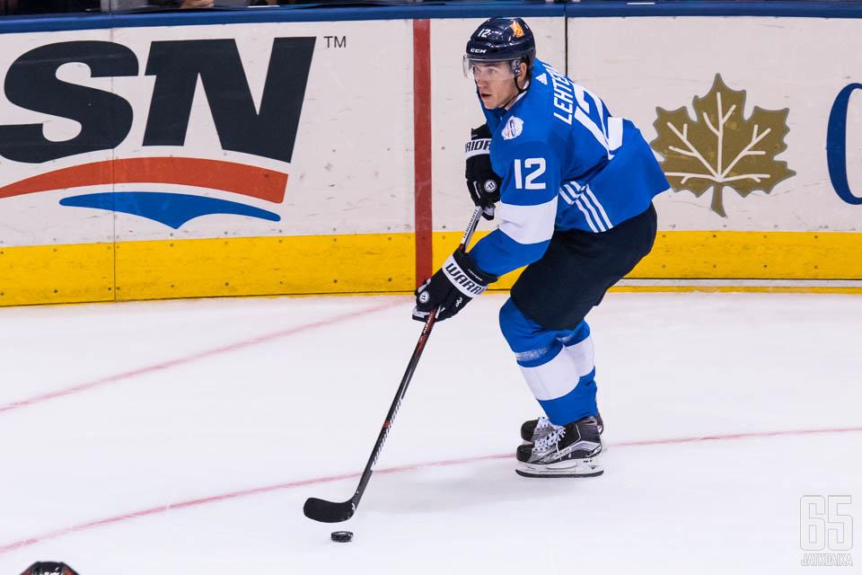 Jori Lehterä on pelannut 90 kertaa Suomi-paidassa.