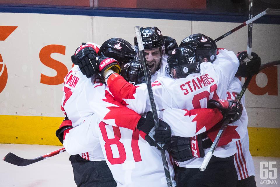 Kanada juhli turnauksessa alusta loppuun, vaikka vaahteranlehtipaidat eivät painaneet kaasua aivan pohjaan asti missään vaiheessa.