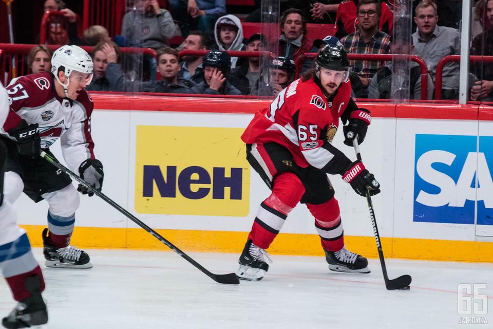 Karlsson oli kiekollisena liian taitava Avalanche-miehistölle.
