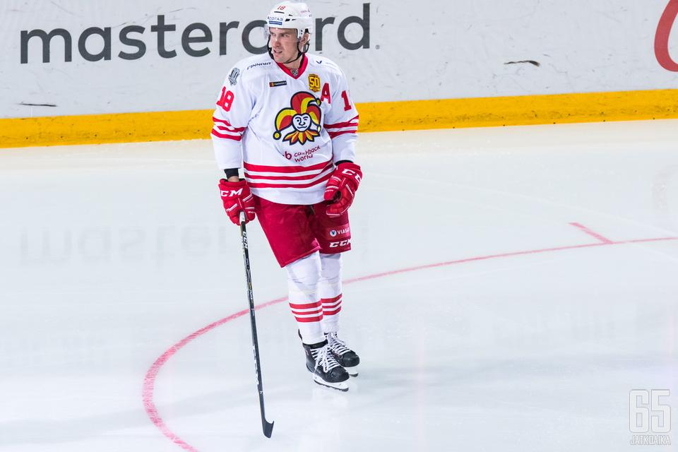 Sami Lepistö valittiin KHL:n viikon parhaaksi pakiksi.