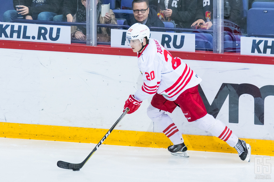 Eeli Tolvasen mukaan Jokereiden on pelattava suoraviivaisesti, kun ulkoilmaottelussa vastassa on Pietarin SKA.