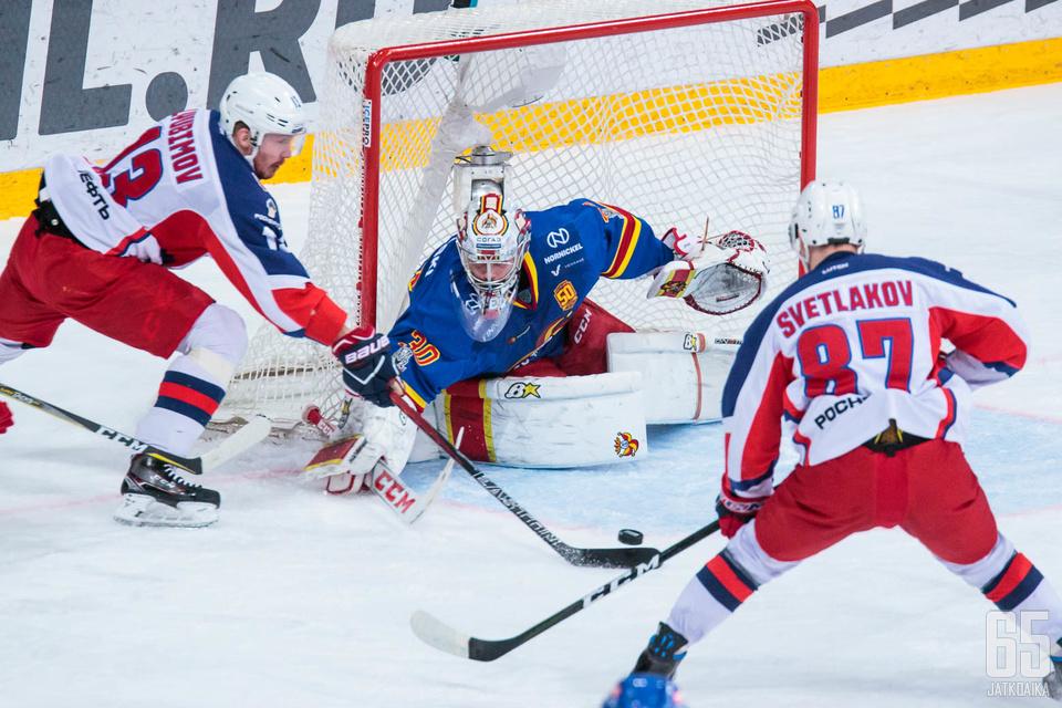 TsSKA vei pudotuspelisarjan otteluvoitoin 4-2.