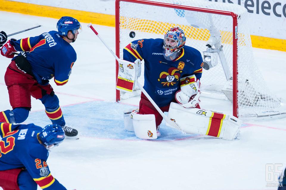Ryan Zapolski on torjunut tällä kaudella yhtä lukuunottamatta kaikissa Jokereiden KHL-otteluissa.