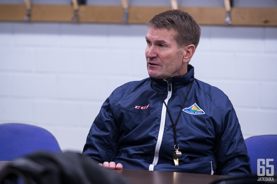 Erkka Westerlundilla on selkeä visio joukkueensa tulevaisuudesta.
