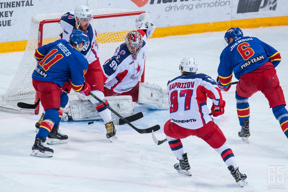 TsSKA ei onnistunut katkaisemaan sarjaa torstaina Moskovassa.