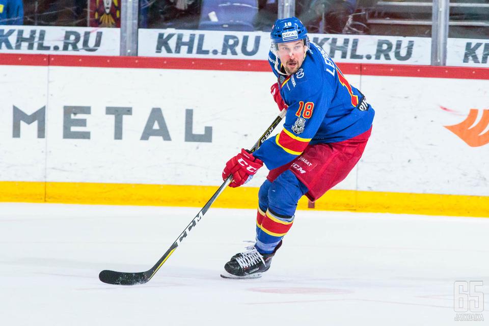 Jokerit jäi pisteittä Moskovassa.