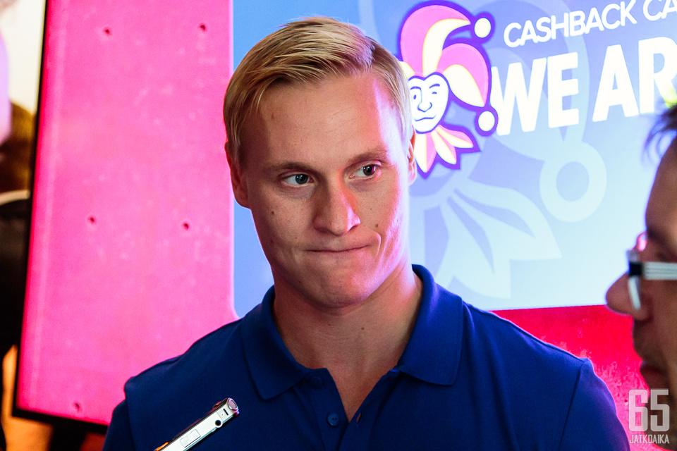 Olli Palola on valmis tekemään tulosta myös KHL:ssä.