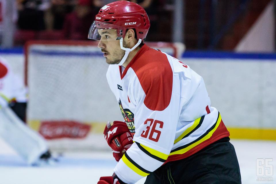 Järvisen viime kaudet kuluivat KHL:ssä.