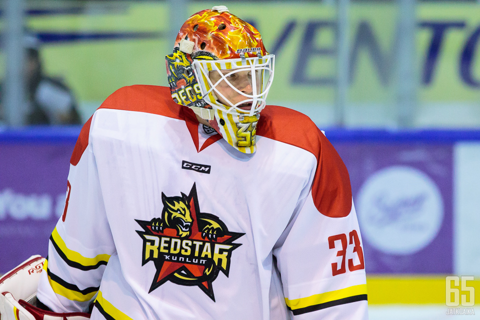 Viime kaudella Karhunen pelasi KHL:n Kunlun Red Starissa.