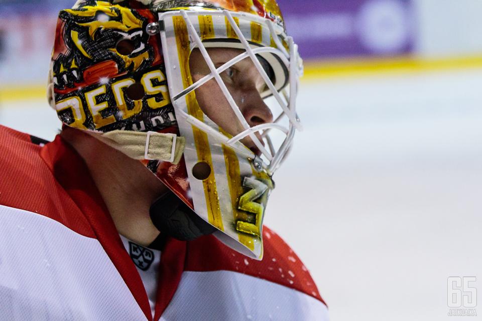 Liigassa kolme mestaruutta putkeen voittanut Tomi Karhunen osoitti pystyvänsä pelaamaan hyvällä tasolla KHL:ssä.