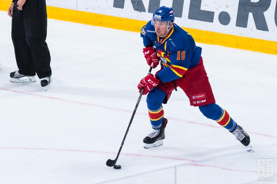 Jokereiden puolustajat ovat tehneet hyvin pisteitä kapteeni Sami Lepistön johdolla.