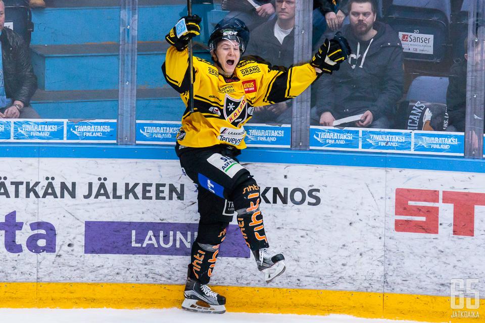 Jesse Mankinen (kuvassa) ja Jaakko Rissanen siirtyivät KalPasta Vitjaziin.