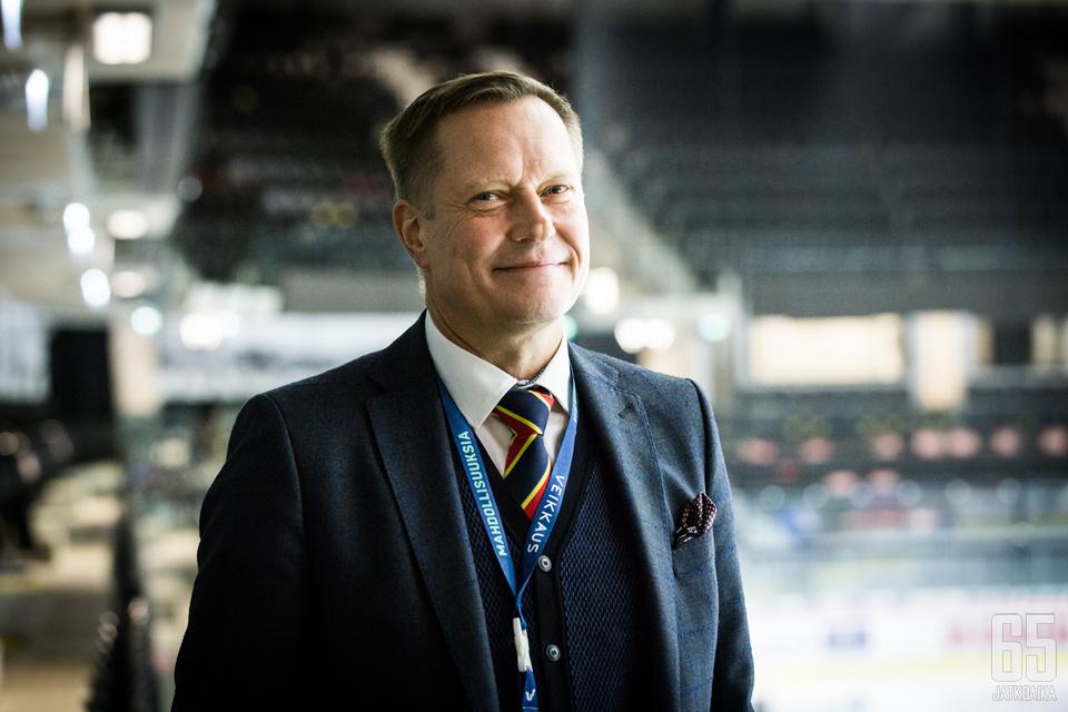 Jukka Kohonen työskenteli Jokerien toimitusjohtajana viisi ja puoli vuotta.