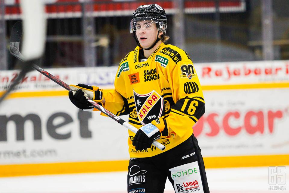 Joni Ikonen pelasi viime kaudella KalPassa.