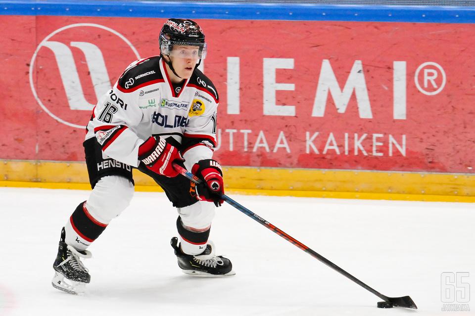 Seppälä pelasi Ässissä kolmella kaudella.