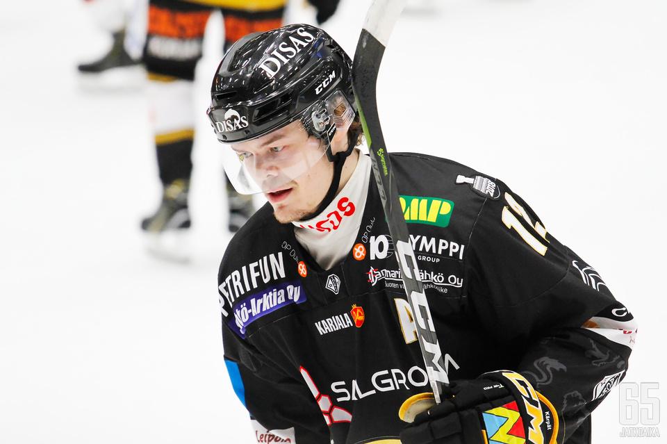 Ville Leskinen pelaa vahvaa kautta