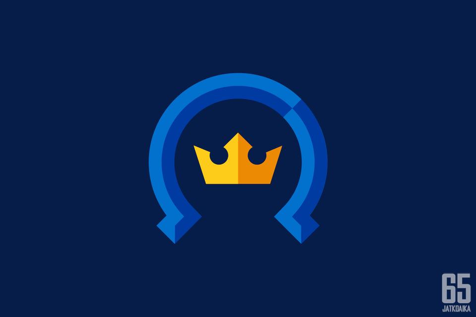 Kiekko-Espoon logo on moderni versio vanhasta. Logon valinta tehtiin yleisöäänestyksen pohjalta.