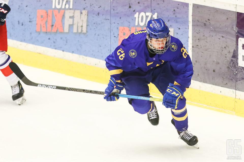 Lucas Raymondista povataan aivan kärkivarausta kesän 2020 NHL:n varaustilaisuuteen.