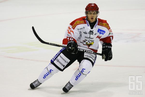 Piispanen pelasi Sportissa neljä kautta.