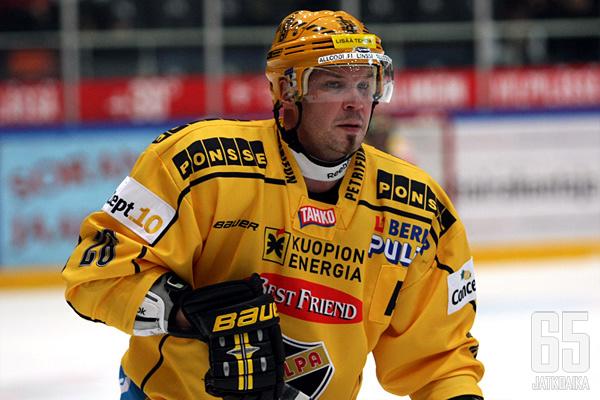 Jokereista parhaiten tunnettu Mika Strömberg pelasi viimeiset liigapelinsä KalPassa.