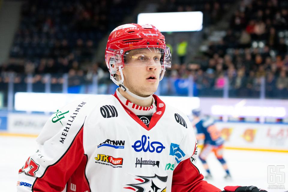 Toni Kallela palasi Liigaan Tanskasta taskussaan rutkasti taitoa ja kokemusta