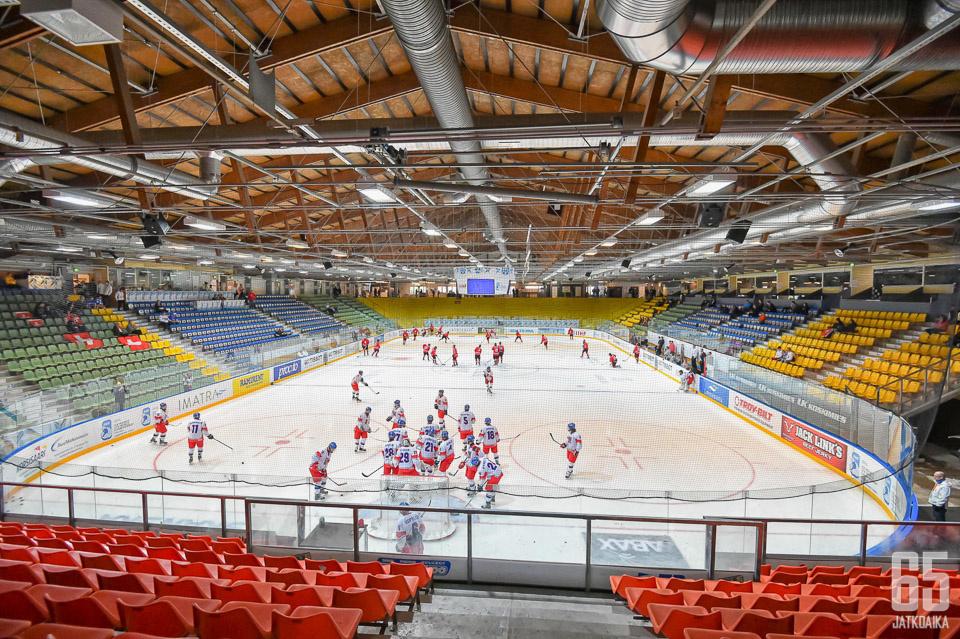 Kisapuiston jäähalli vetelee jo viimeisiään ja Liiga-SaiPa Oy haaveilee uudesta areenasta keskustassa.