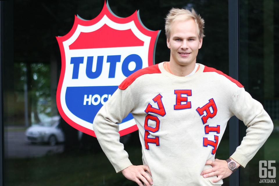 Anssi Virkki ottaa kapteenin roolin myös Turussa.