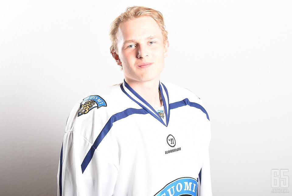 Kristian Vesalainen on tuttu näky nuorten maajoukkueissa.