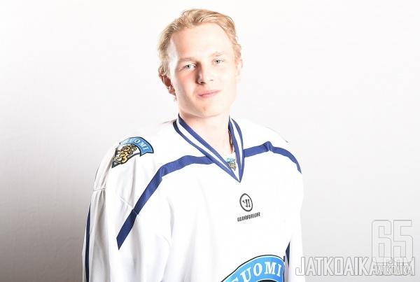 Kristian Vesalainen on tuttu nimi nuorten maajoukkueissa.