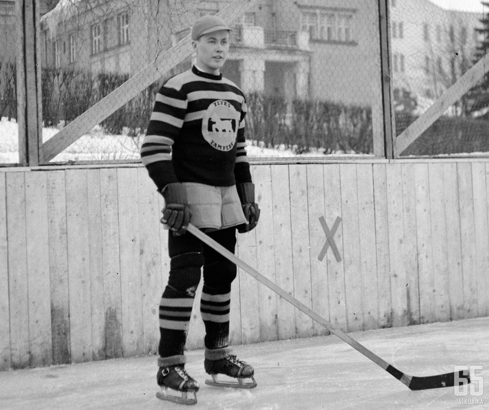 Kalle Havulinna on Jääkiekkoleijona numero 13.