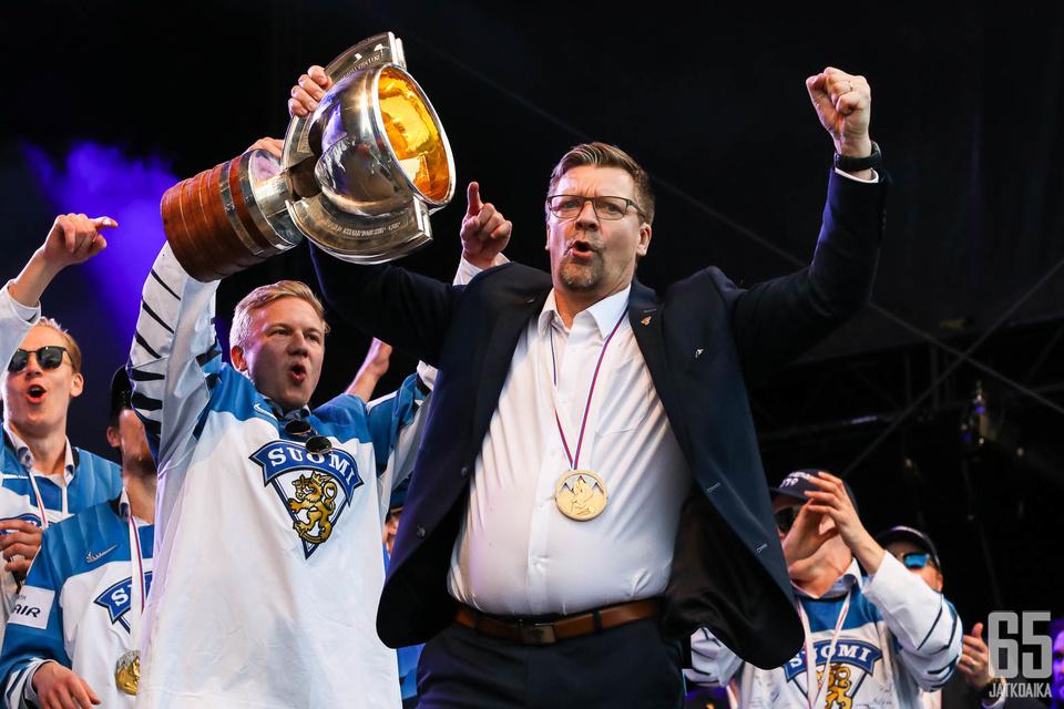 Jukka Jalonen on maajoukkueen menestykselle tärkeämpi kuin yksittäiset pelaajat.