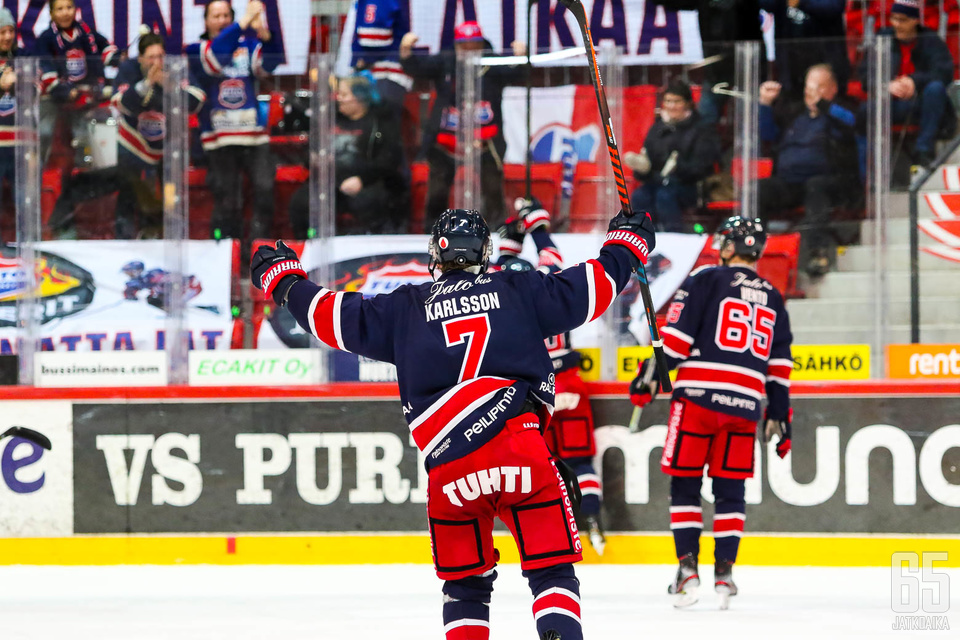 TUTOn tulevaisuuden visiona on olla yksi Suomen parhaista jääkiekkoseuroista.
